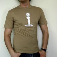 Missive Vierge Logo Shirt (Sand / White Logo)