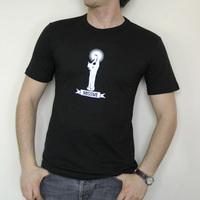 Missive Vierge Logo Shirt (Black / White Logo)