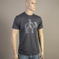 Mos Ferry Horse Logo Shirt (Asphalt)
