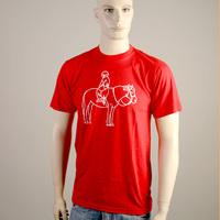 Mos Ferry Horse Logo Shirt (Red)