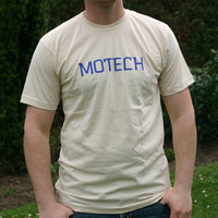 Motech Logo shirt (Creme)