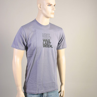 New Rave was last Weekend Shirt (Slate / Gray)