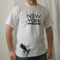 New York Logoshirt (White)