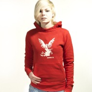 Northern Lite Girl Hoody (Red)