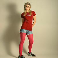 Girl Rave Strikes Back Shirt (Red / Fitform)