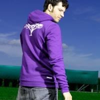 Safari Hooded Jacket (Purple)
