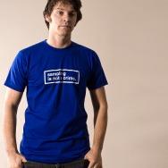 Sampling is not a crime Shirt (Blue)