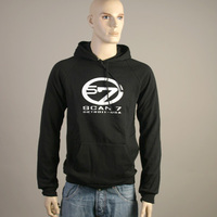 Scan 7 Detroit - Usa Hooded Sweater (Black)