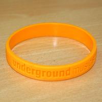 Silikonband Underground (Orange)