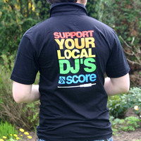 Support Your Local DJs Poloshirt (Black)
