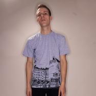 Warschauer Strasse Shirt (Grey)