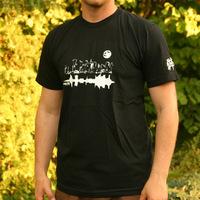 Tic Tac Toe City Shirt (Black)