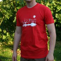 Tic Tac Toe City Shirt (Red)