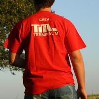 Terminal M Crew Logo Shirt (Red)