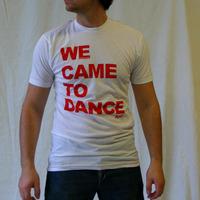We Came To Dance Logoshirt (White / Red)