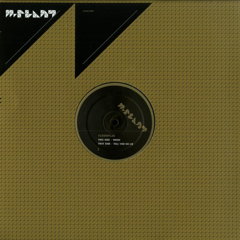 Floorplan Aka Robert Hood - MUSIC / TELL YOU NO LIE