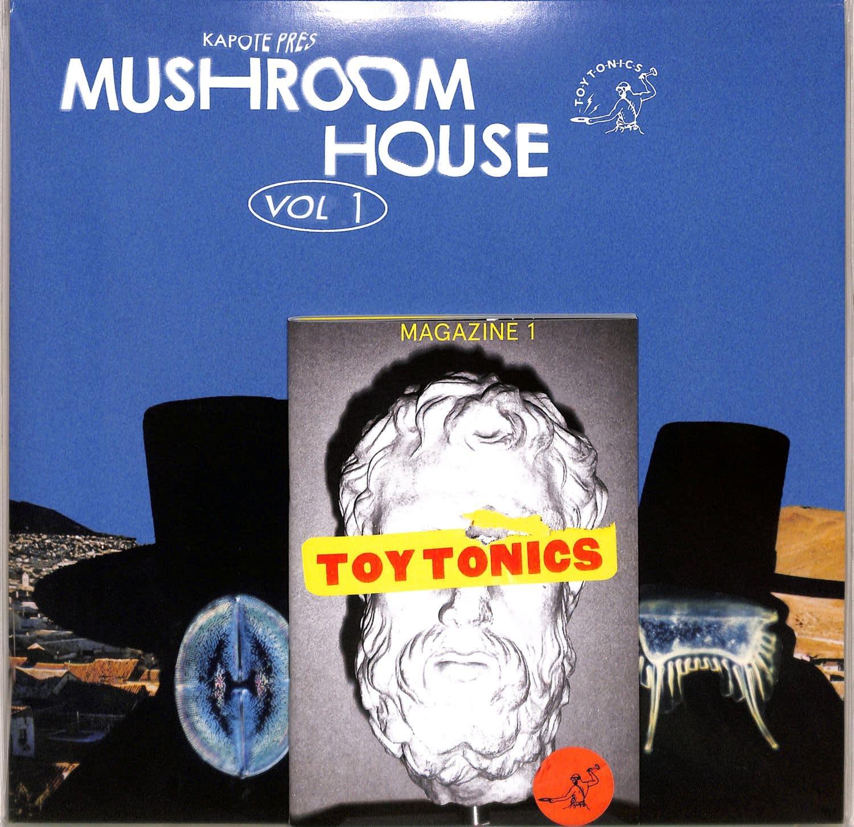 Various Artists - KAPOTE PRES MUSHROOM HOUSE VOL 1