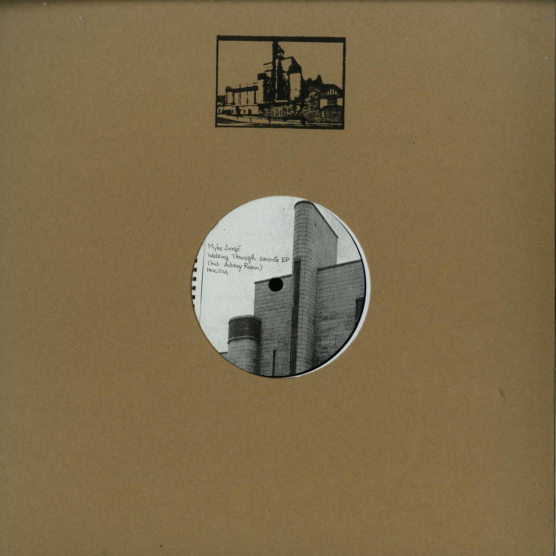 Myles Serge - WALKING THROUGH CONCRETE EP
