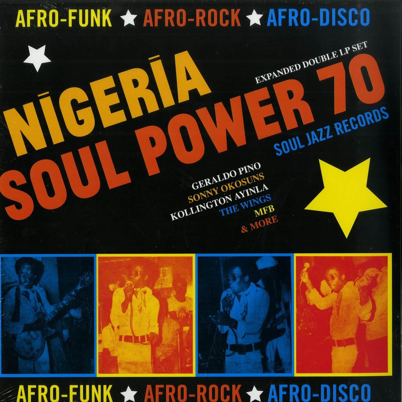 Various Artists - NIGERIA SOUL POWER 70