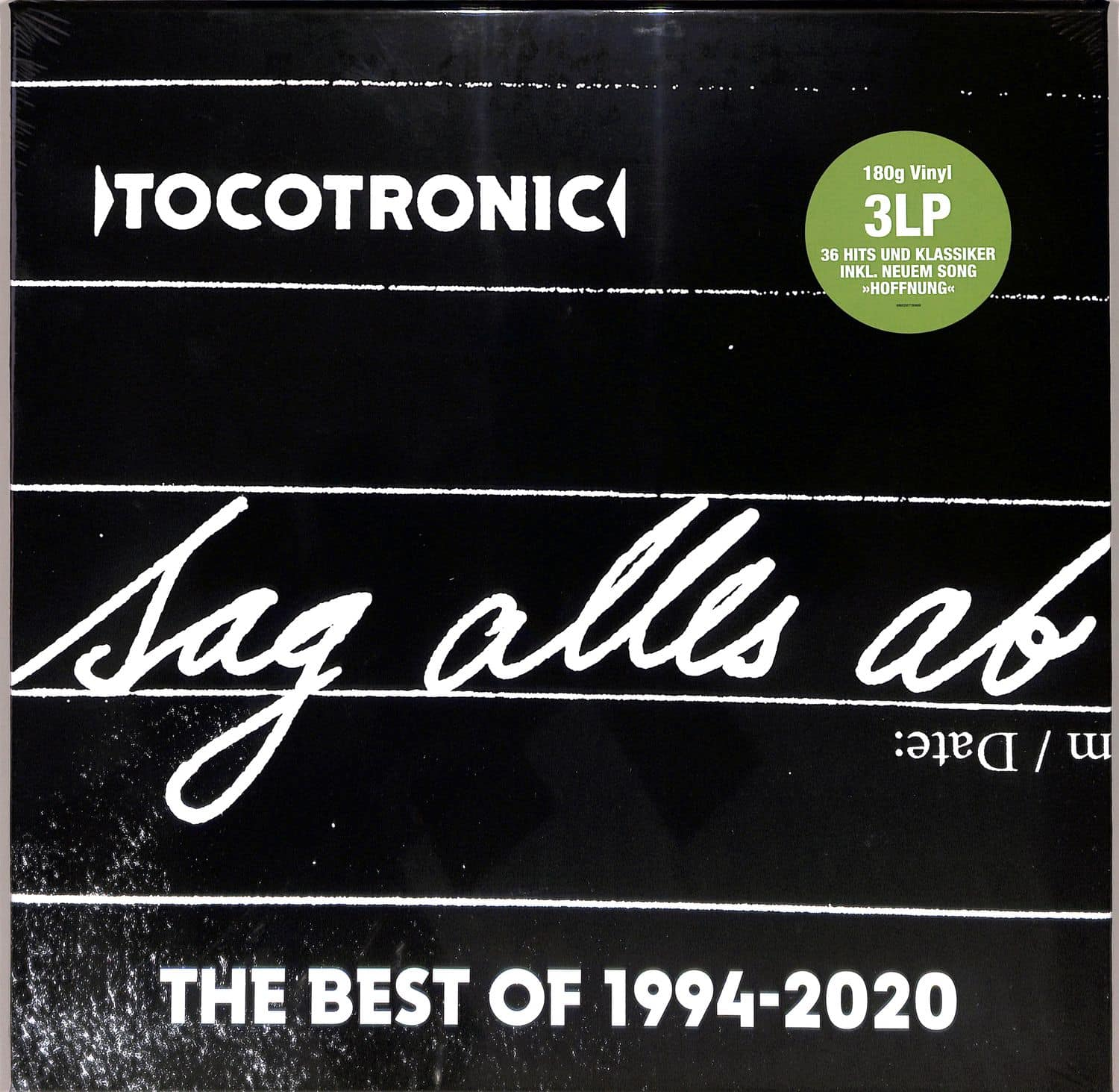 Tocotronic - SAG ALLES AB - BEST OF 1994-2020