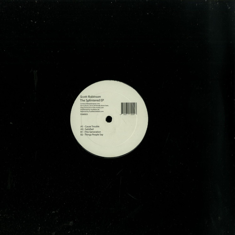 Scott Robinson - THE SPLINTERED EP