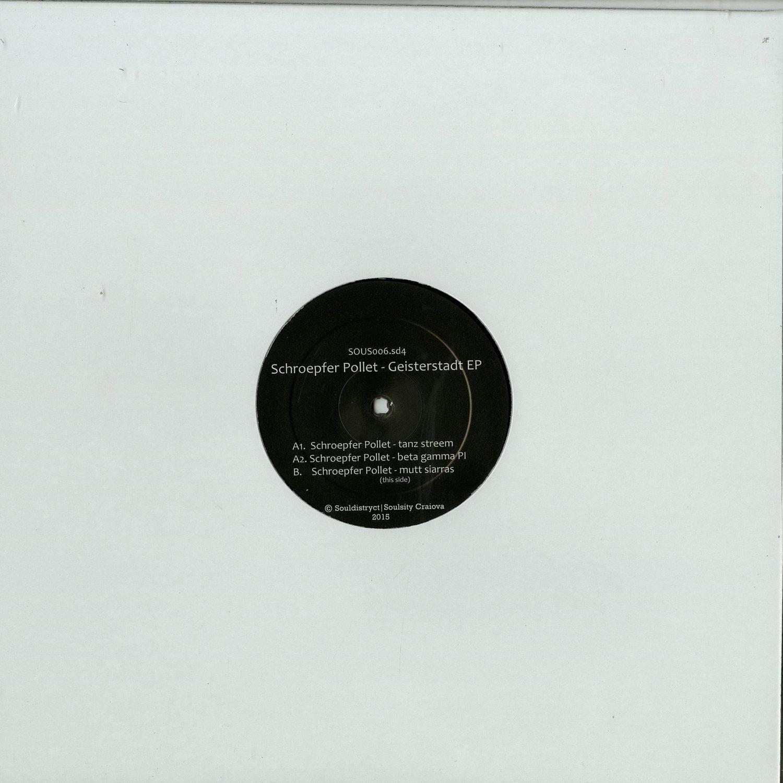 Schroepfer Pollet - GEISTERSTADT EP