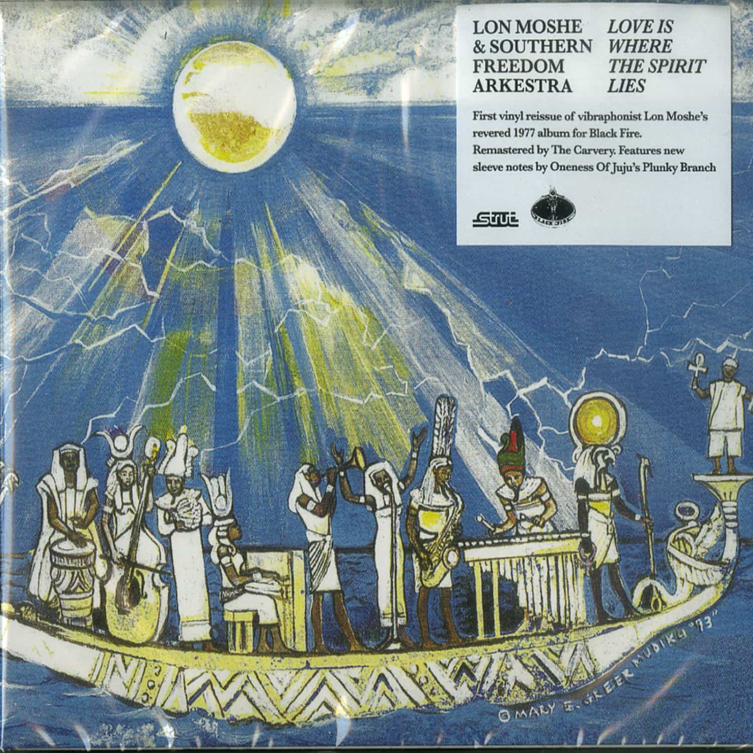 Lon Moshe & Southern Freedom Arkestra - LOVE IS WHERE THE SPIRIT LIES