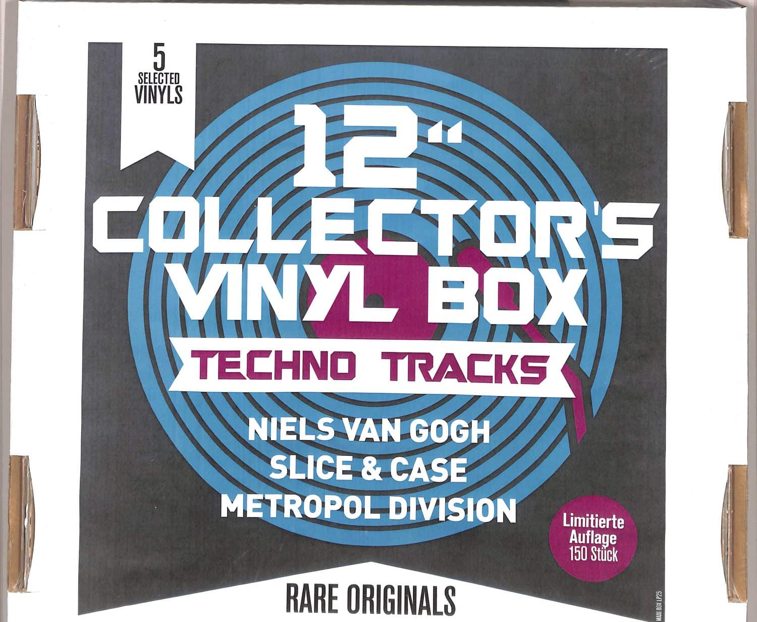 Various Artists - 12Inch COLLECTOR S VINYL BOX: TECHNO TRACKS