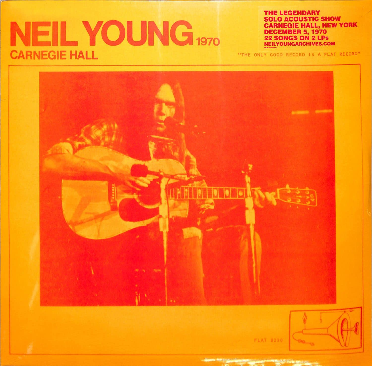 Neil Young - CARNEGIE HALL 1970