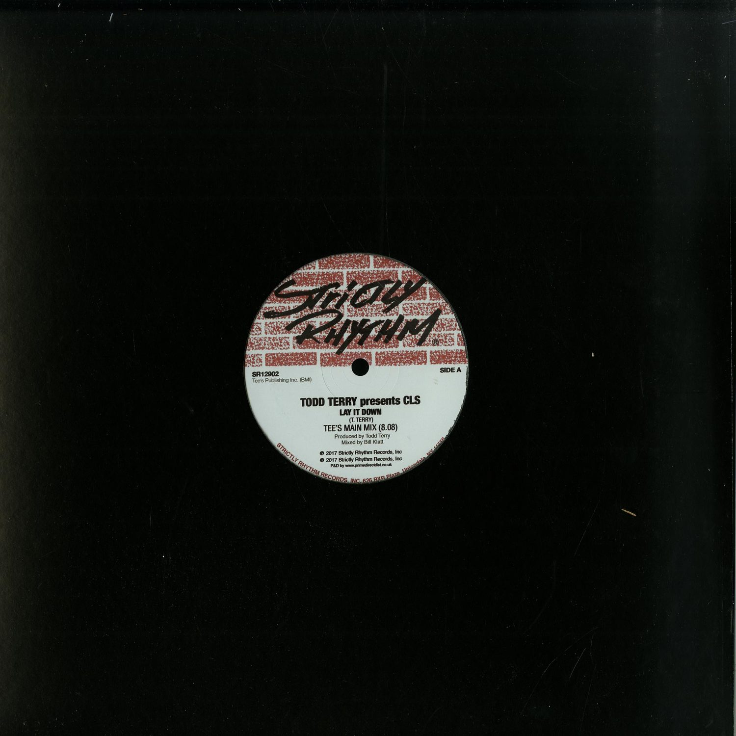 Todd Terry Presents CLS - LAY IT DOWN