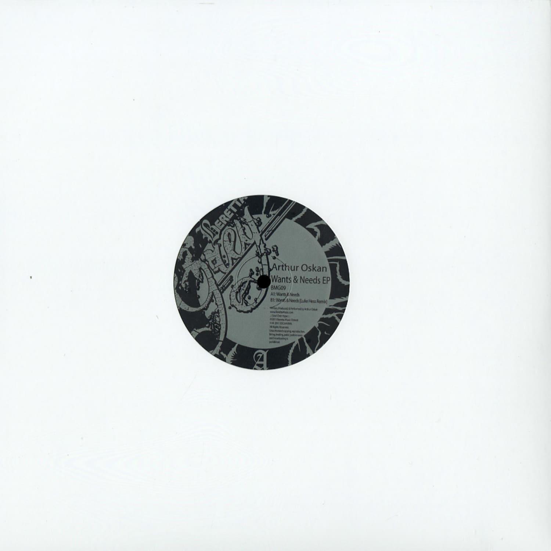 Arthur Oskan - WANTS & NEEDS EP