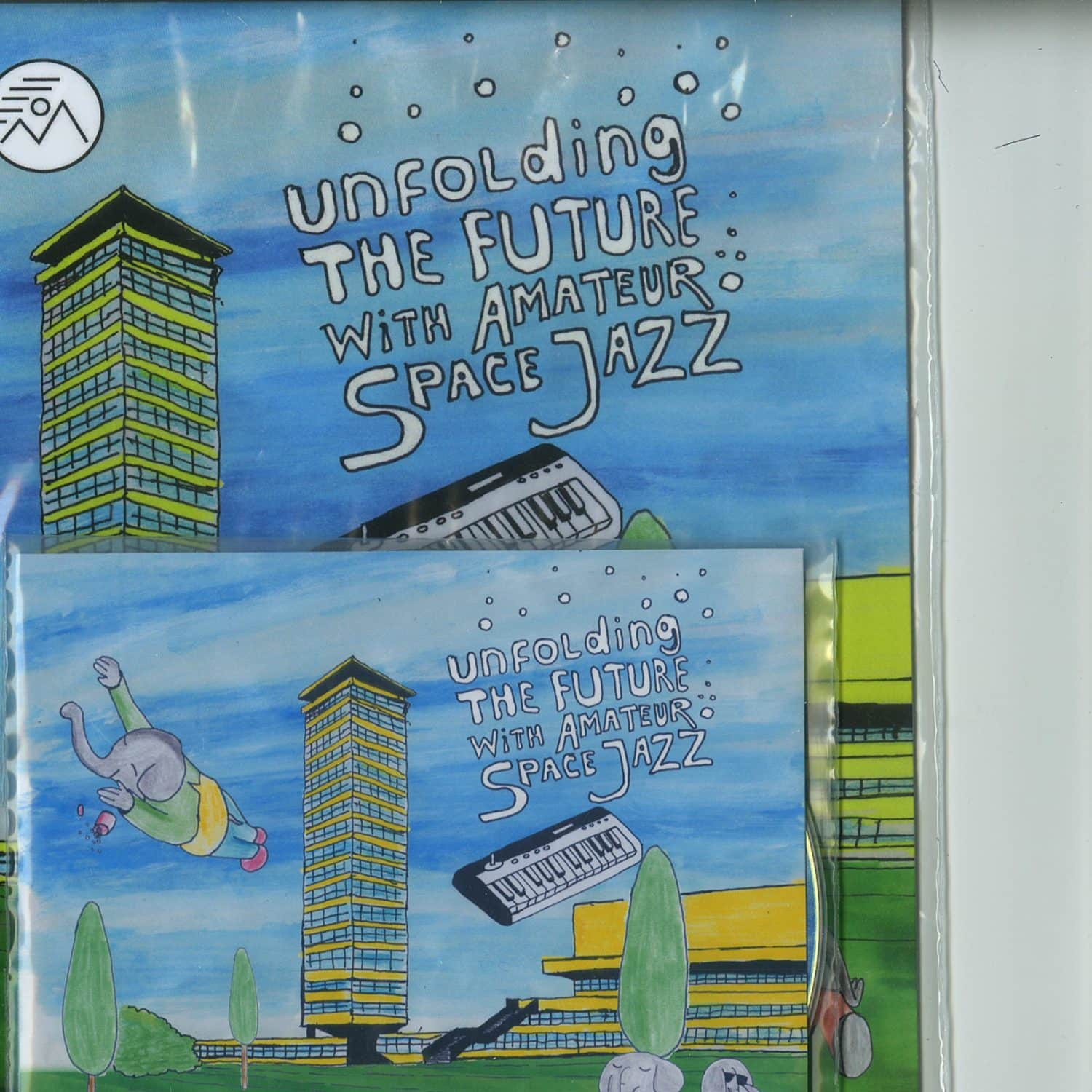 Danny Wolfers - UNFOLDING THE FUTURE WITH AMATEUR SPACE JAZZ