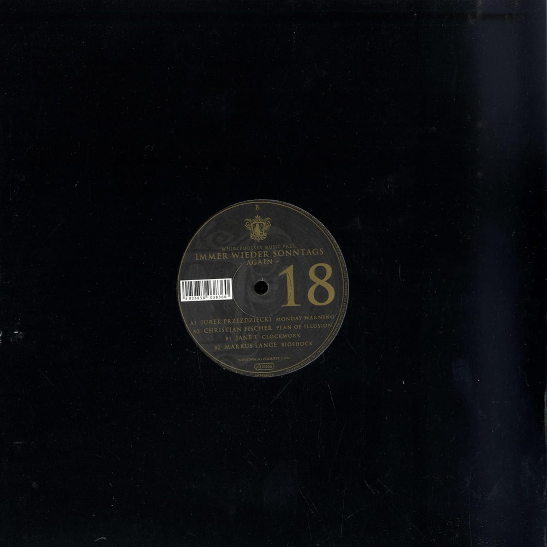 Whirlpoolsex Music Presents - IMMER WIEDER SONNTAGS E.P. 2