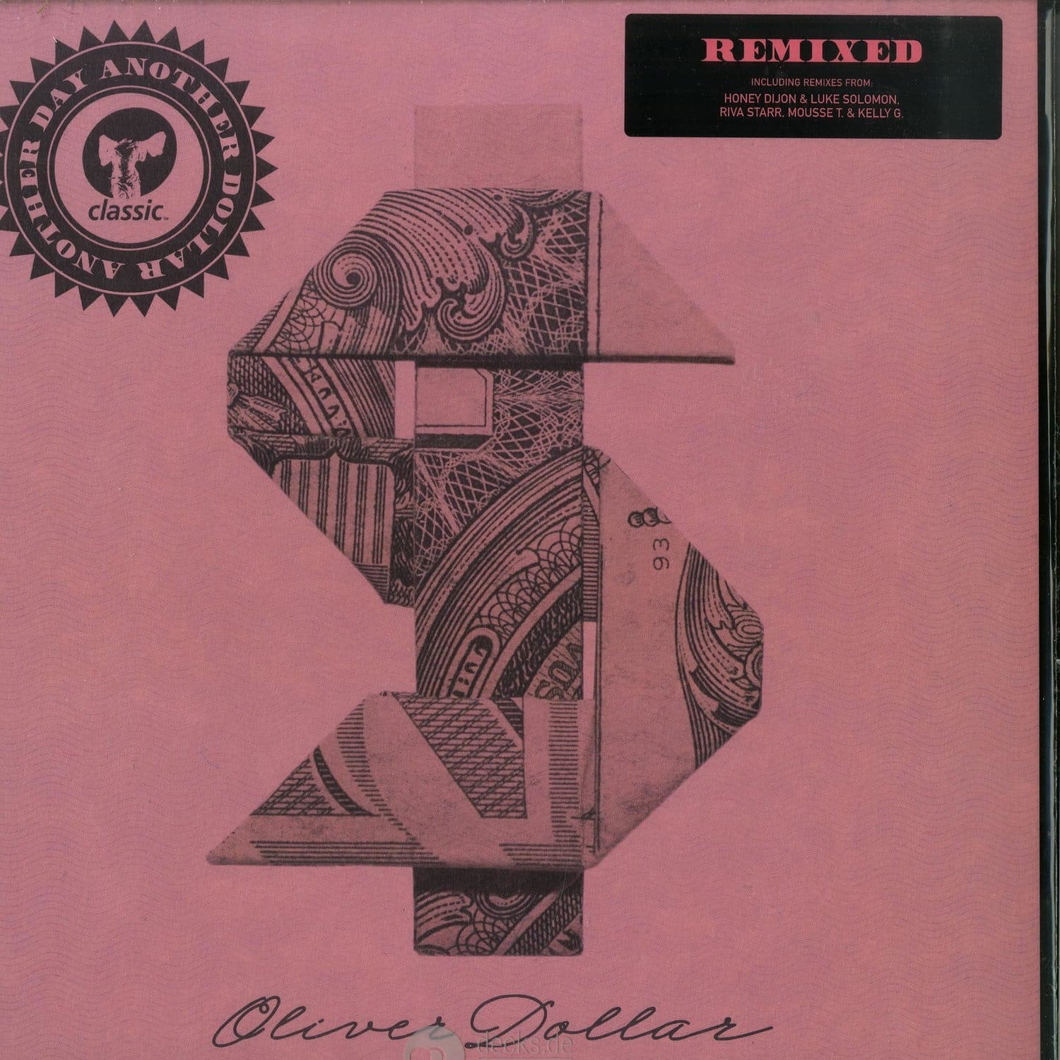 Oliver Dollar - ANOTHER DAY ANOTHER DOLLAR REMIXED