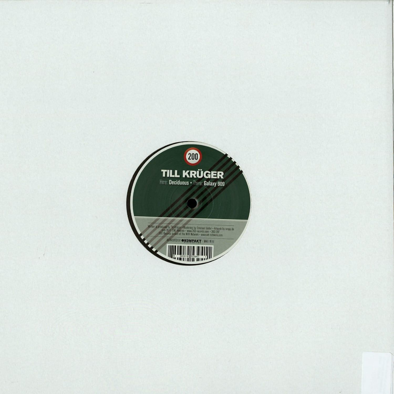 Till Krueger - DECIDUOUS / GALAXY 909