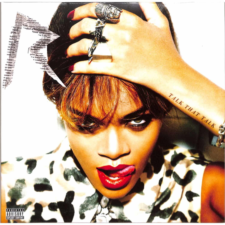 Rihanna Talk That Talk 180g Lp Mp3 Universal 5707984