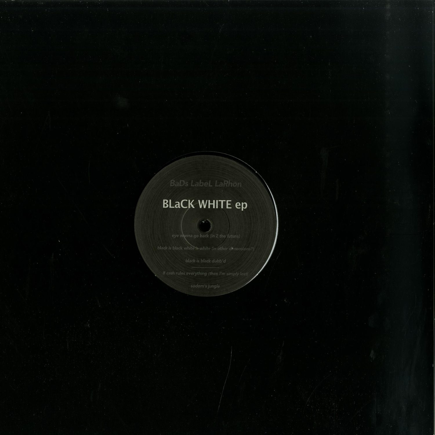 Elbee BaD - BlaCK WHITE ep