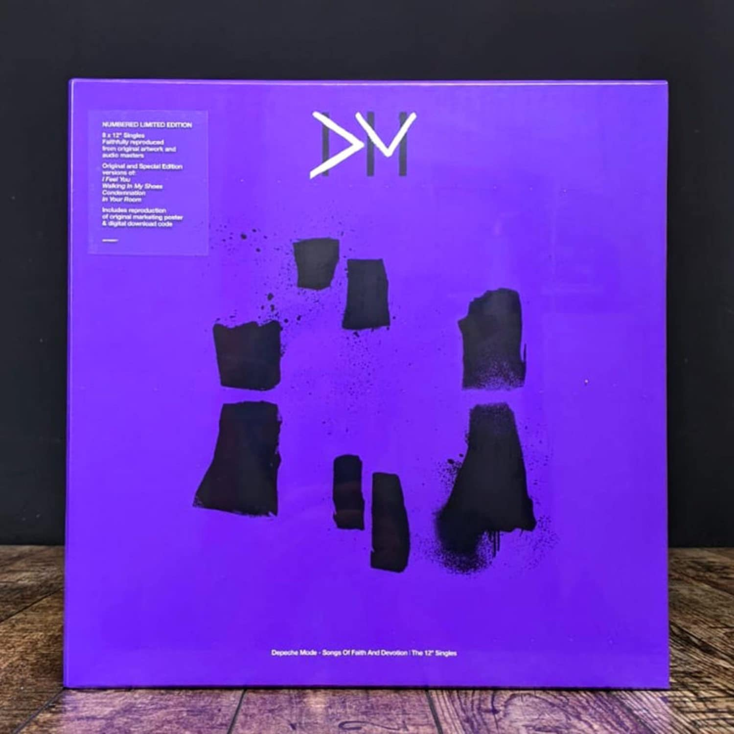 Depeche Mode - SONGS OF FAITH AND DEVOTION-THE 12Inch SINGLES