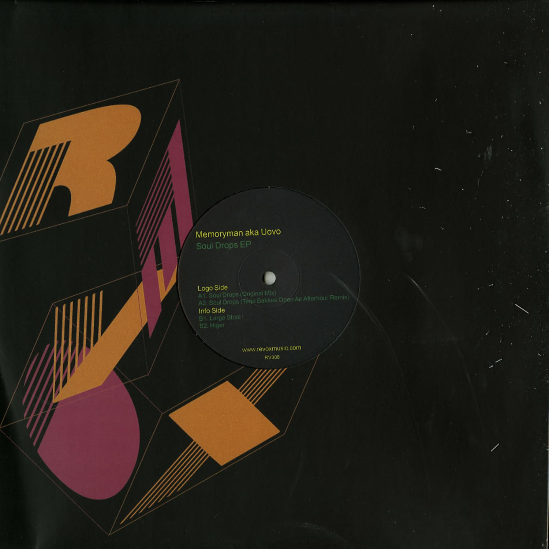 Memoryman aka Uovo - SOUL DROPS EP