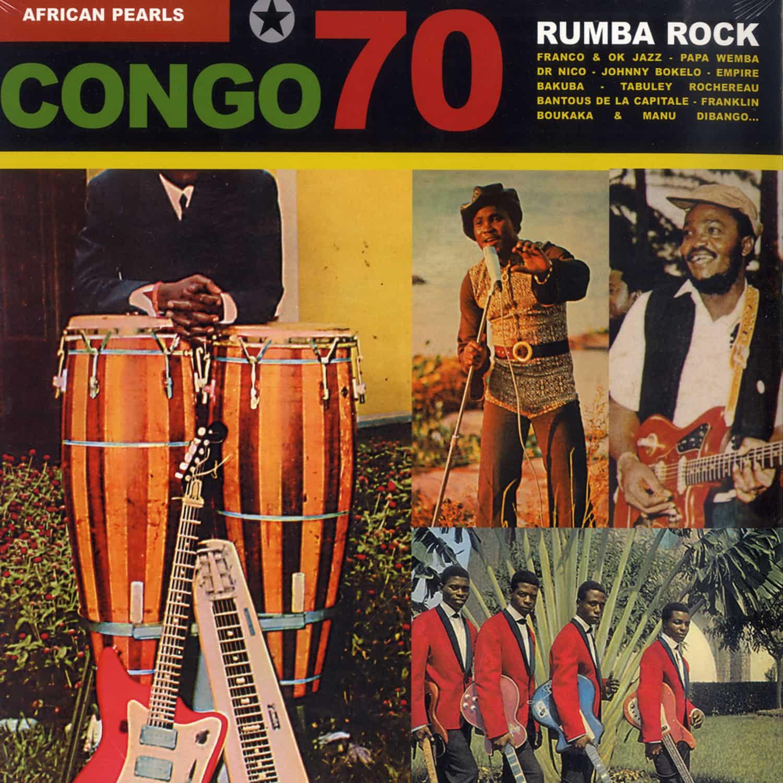 African Pearl 70 - RUMBA ROCK - CONGO 70 S