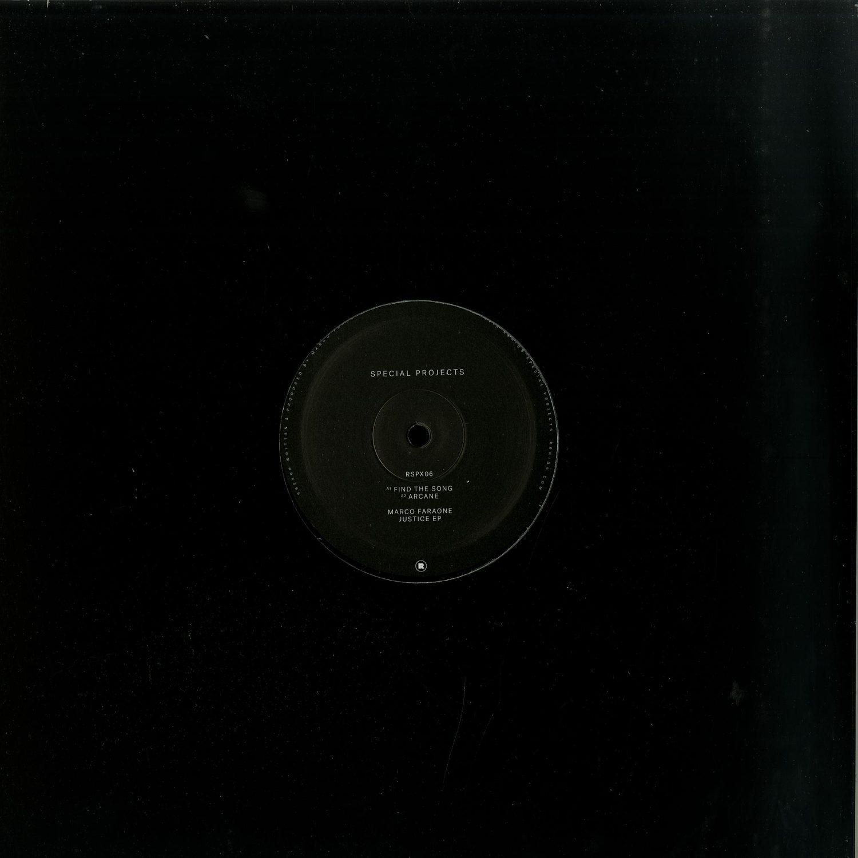 Marco Faraone - JUSTICE EP