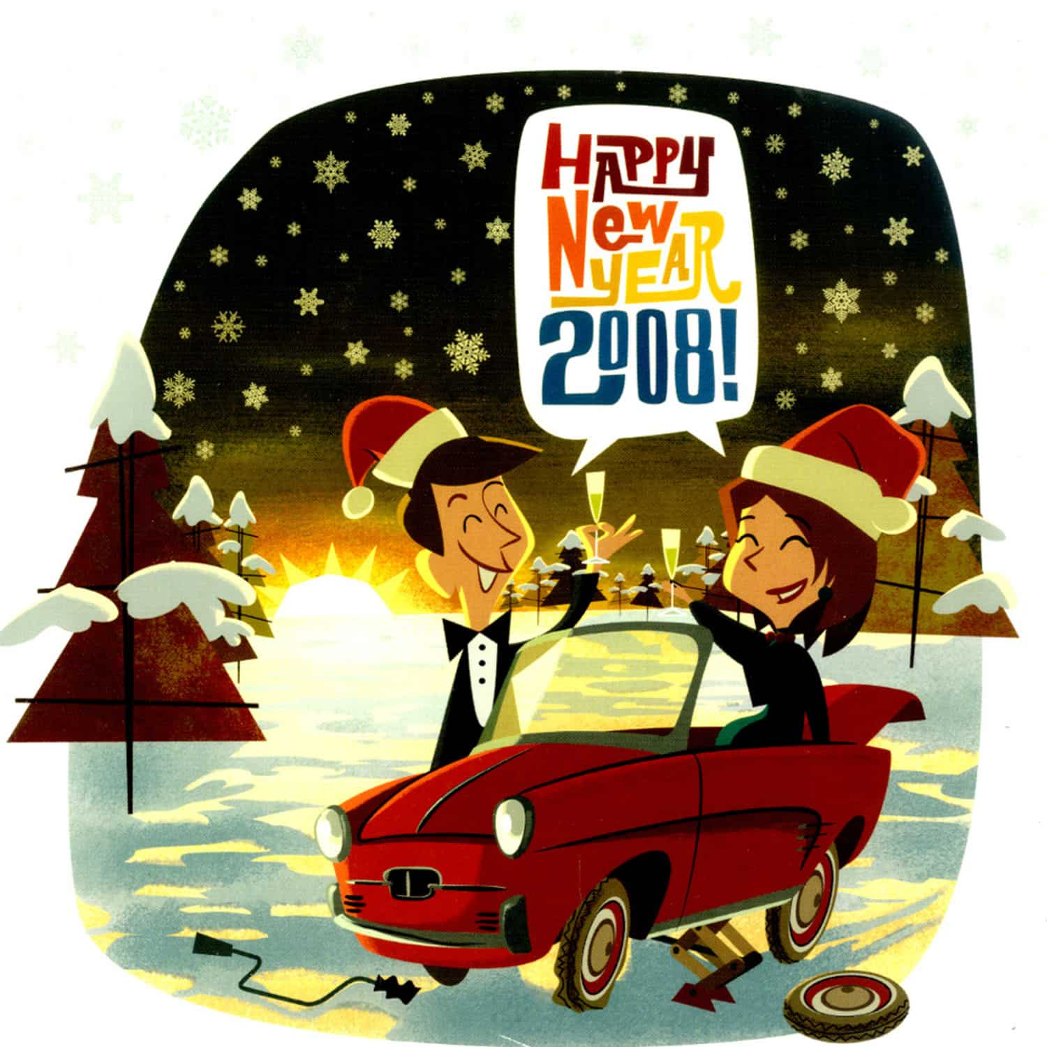 Various - HAPPY NEW YEAR 2008