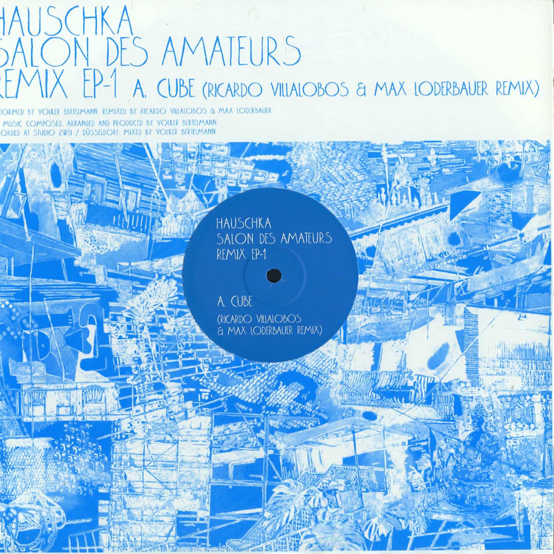 Hauschka - SALON DES AMATEURS REMIX EP 1