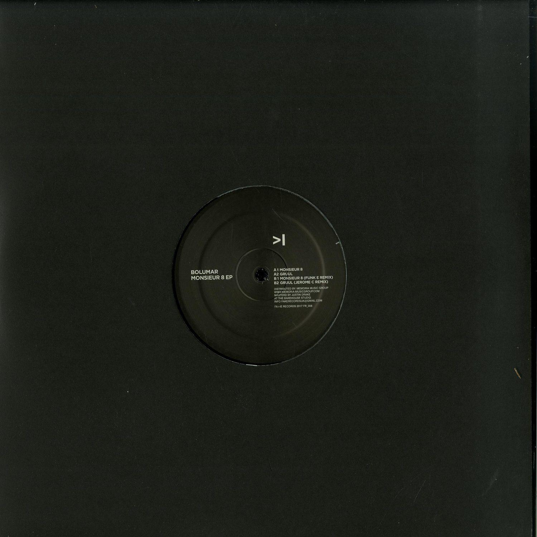 Bolumar - MONSIEUR 8 EP