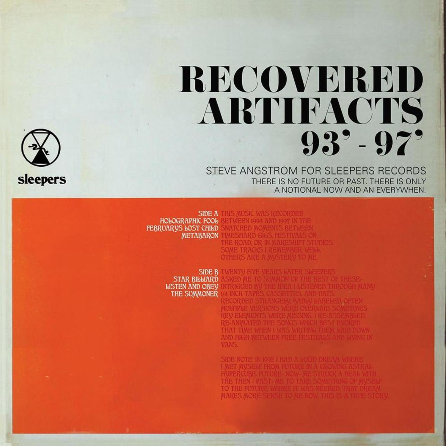 Steve Angstrom - RECOVERED ARTIFACTS 93-97