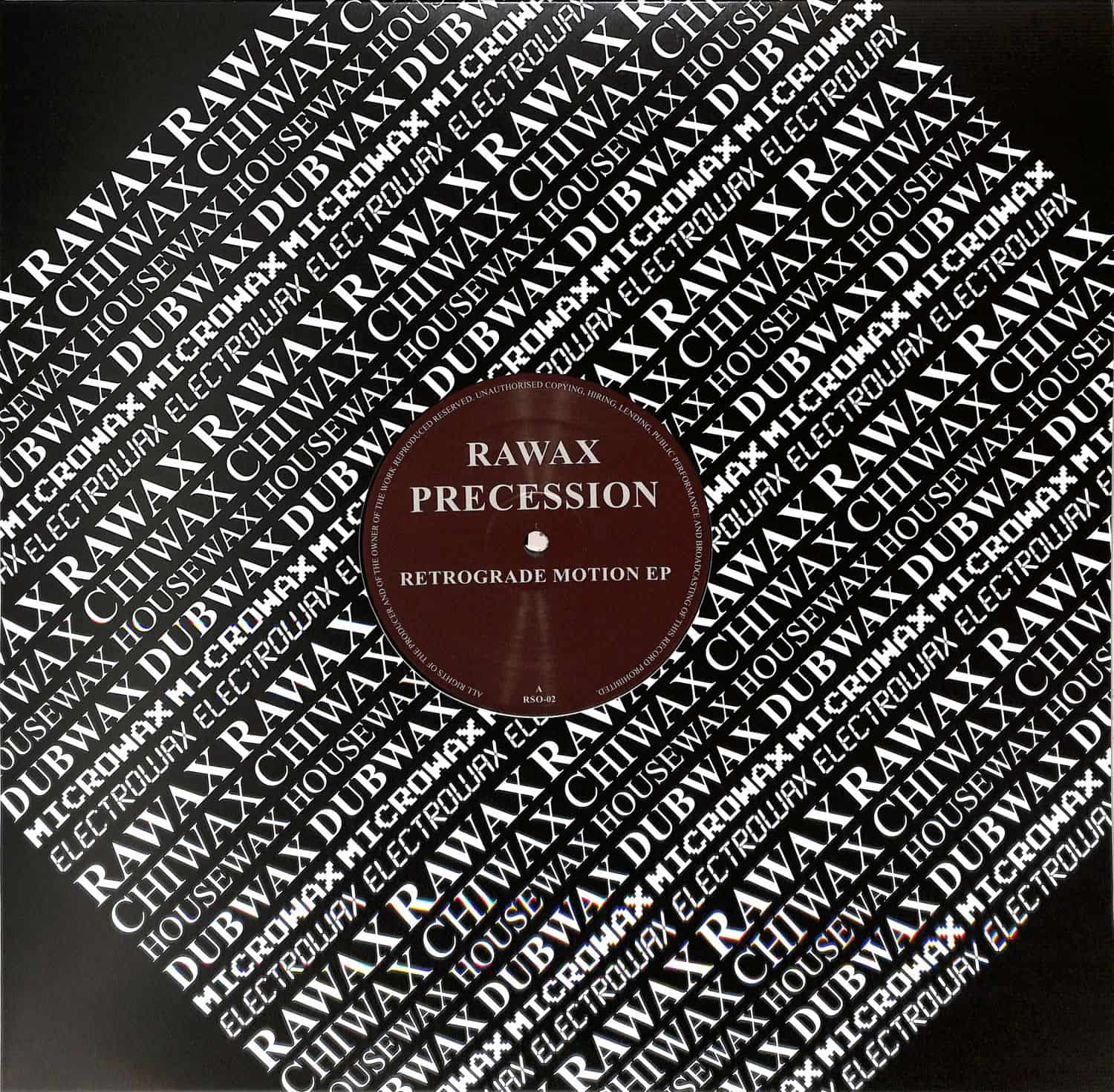 Precession  - RETROGRADE MOTION EP