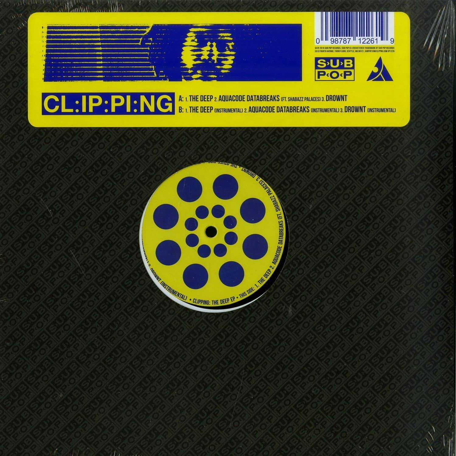 Clipping. - THE DEEP EP