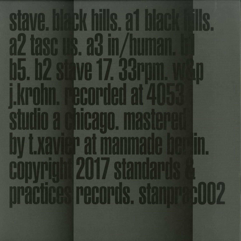 Stave - BLACK HILLS