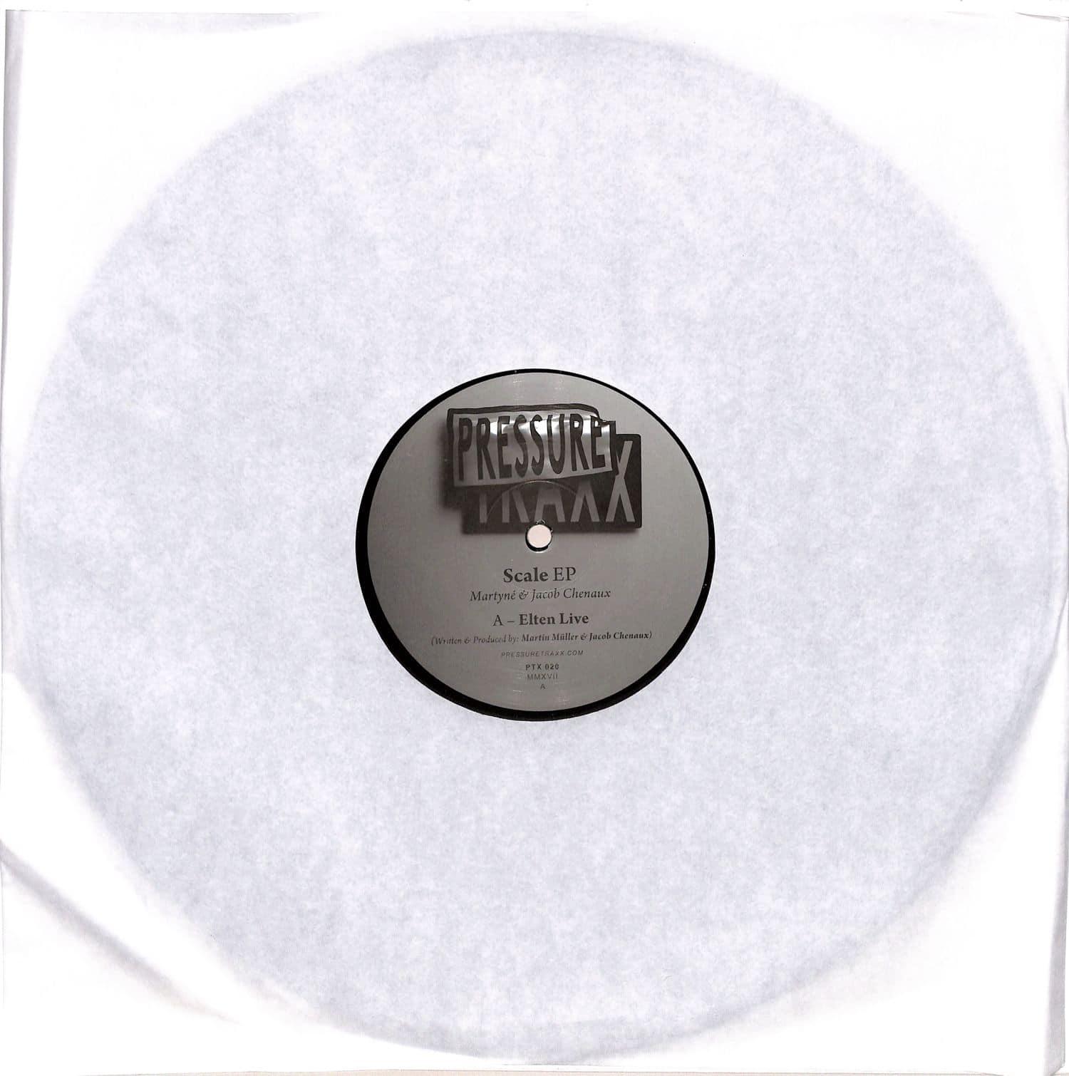 Martyne & Jacob Chenaux / Bodin - SCALE EP