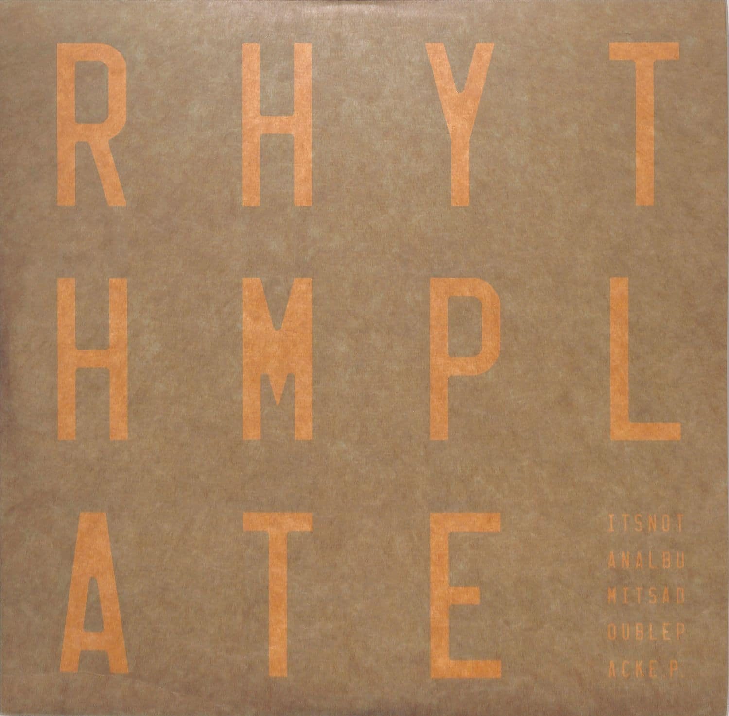 Rhythm Plate - ITS NOT AN ALBUM ITS A DOUBLEPACK EP